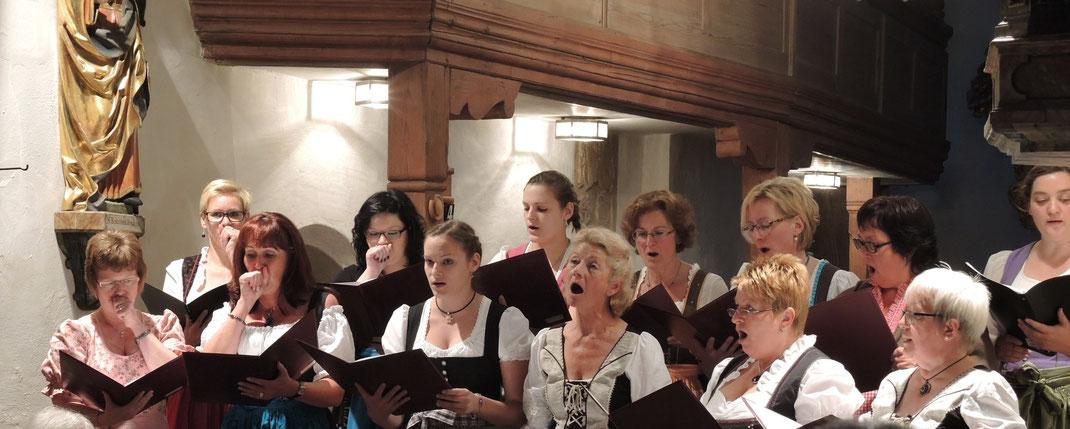 2015 Serenade in der St. Bartholomäuskirche Alfeld