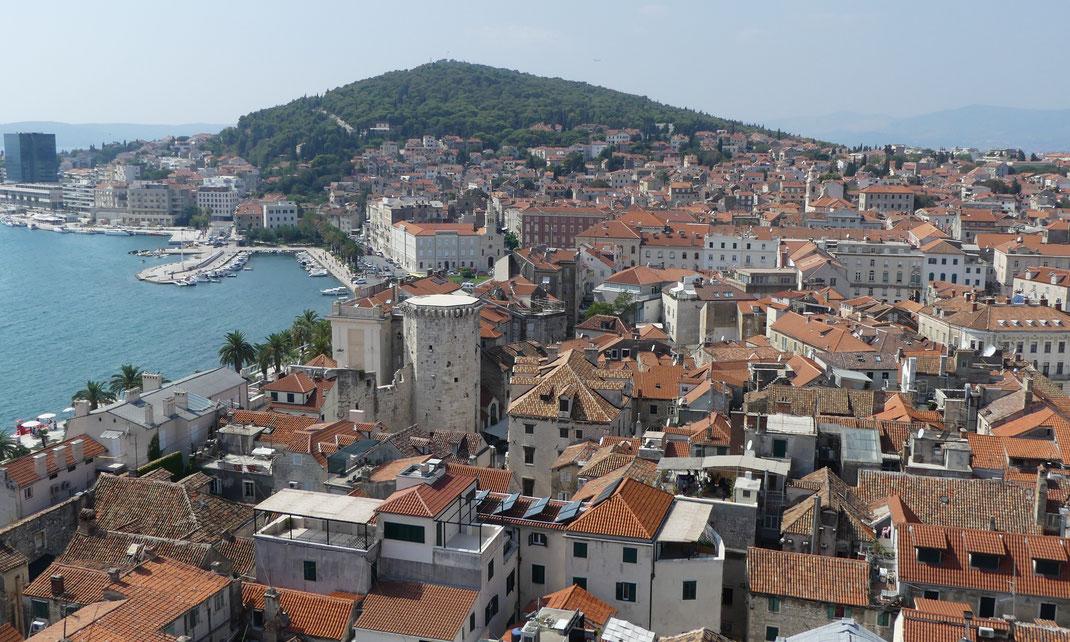Split, Croatie.