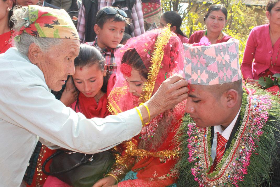 Mariage, Nepal.