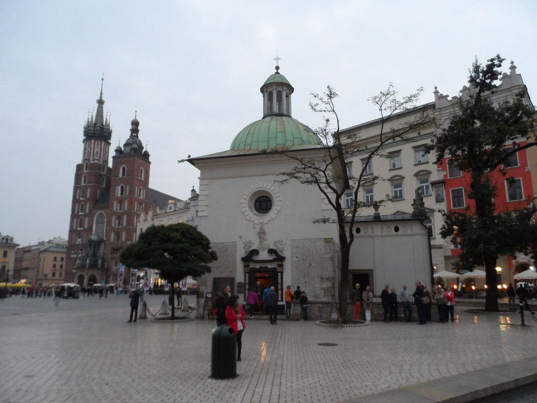 Église Saint-Aldabert, Cracovie.