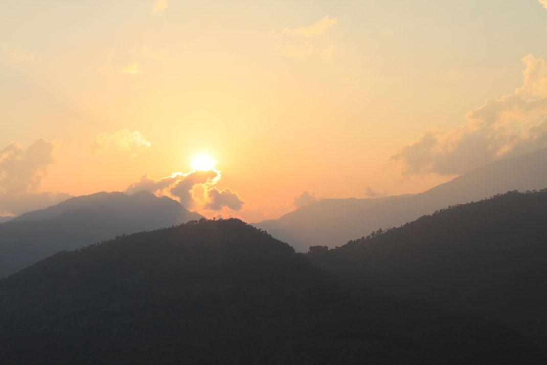 Paysage népalais.
