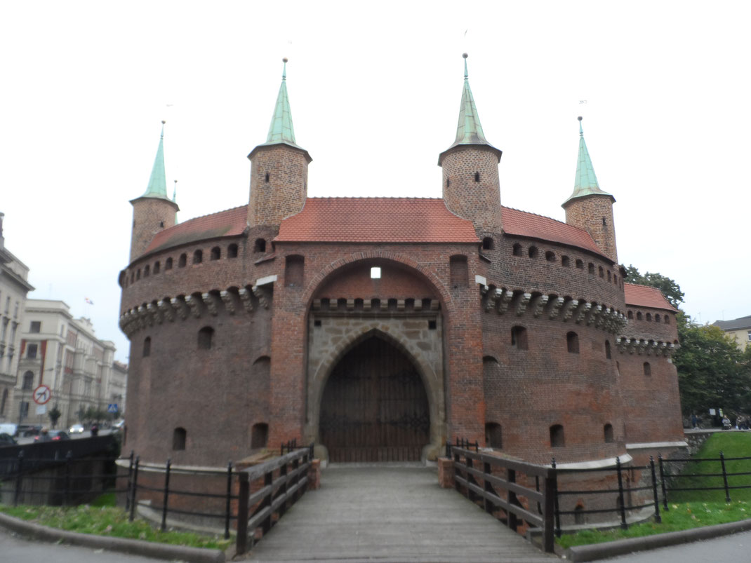 Barbacane, Cracovie.