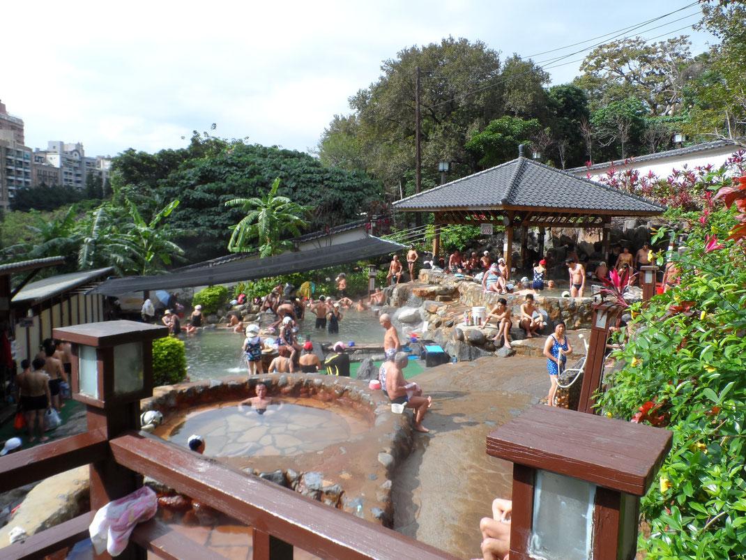 Millennium Hot Spring, Beitou, Taipei.