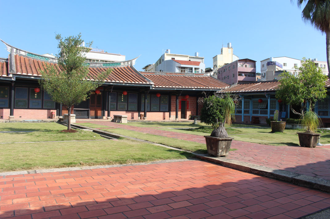 WuFeng Lin Family Mansion and Garden, Taichung, Taiwan.