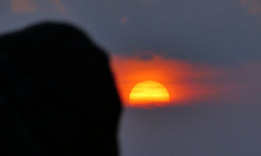 Mémorable coucher de soleil