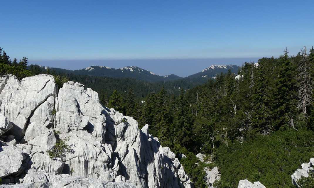 Premuzic Trail, Croatie.