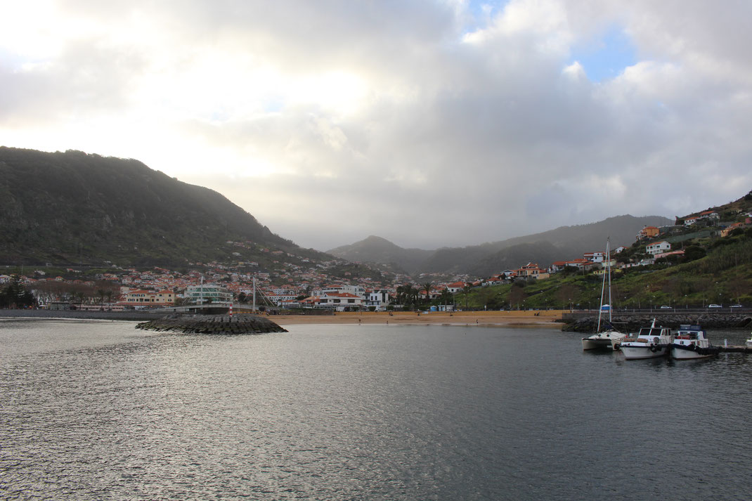 Machico, Madère, Portugal.