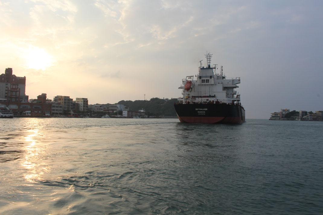Port de KaoHsiung.