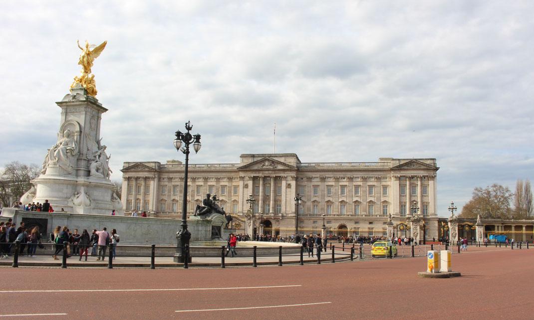 Buckingham Palace, Londres.