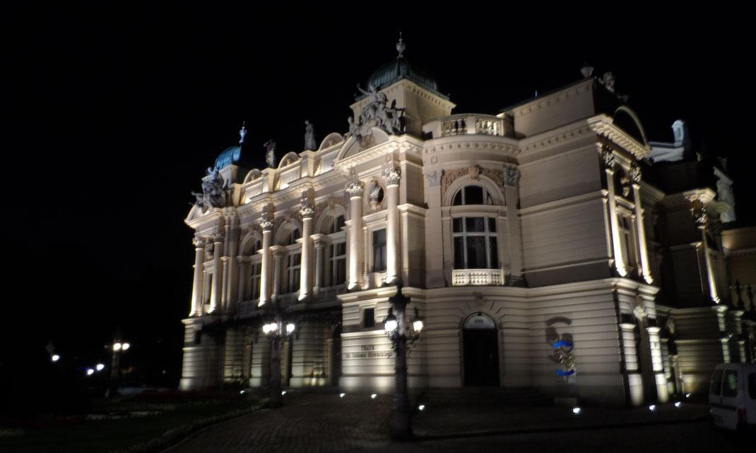 Théâtre Juliusz Słowacki, Cracovie.