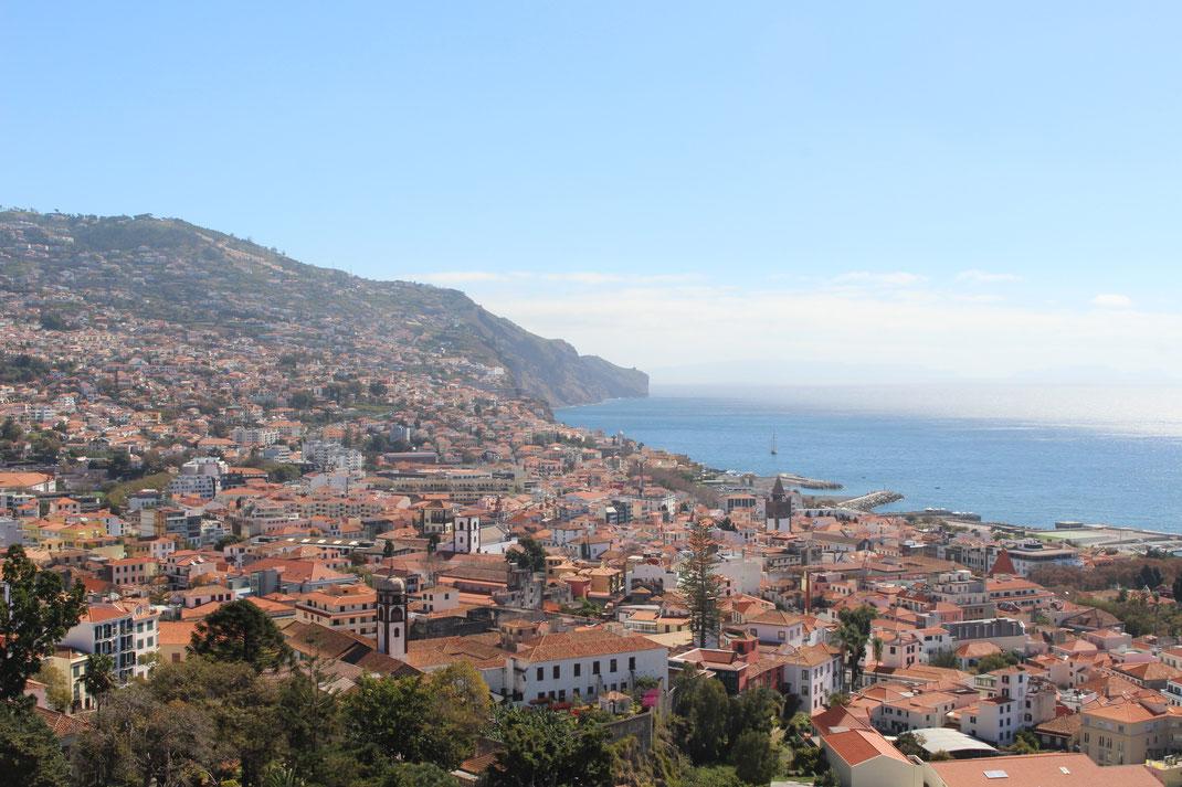 Fortaleza do Pico, Funchal, Madère, Portugal.