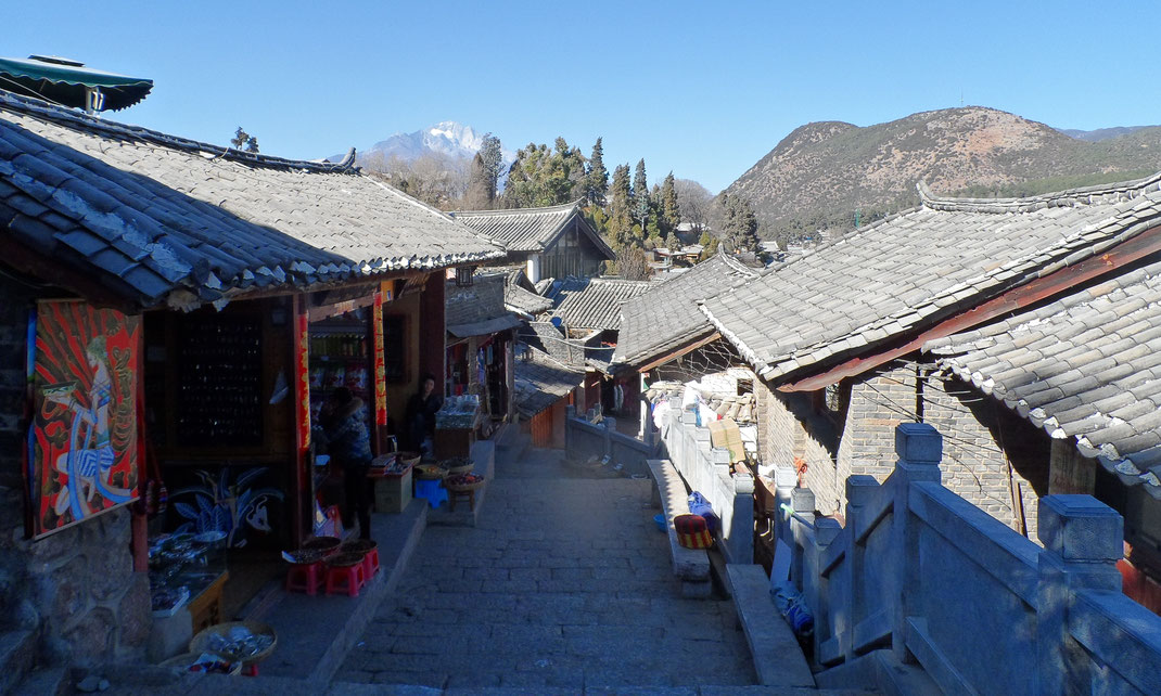 Une vielle ruelle de Lijiang.