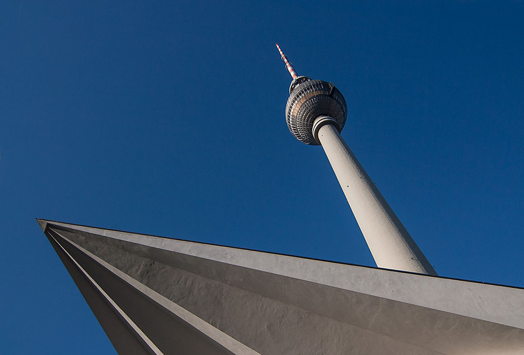 Televison Tower, Alexanderplatz, East Berlin, Germany, 1280x867px