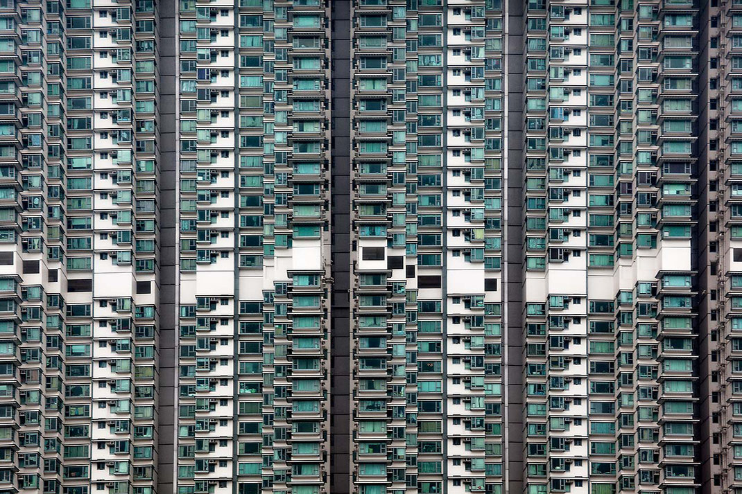 Hongkong Apartment blocks with hundreds of flats, Megacity, Asia, China, 1280x853px