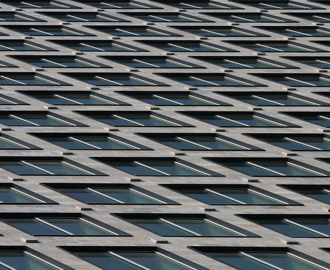 Facade Window Details of the IBC Building, Modern Architecture, Frankfurt, Germany, 1280x1048px