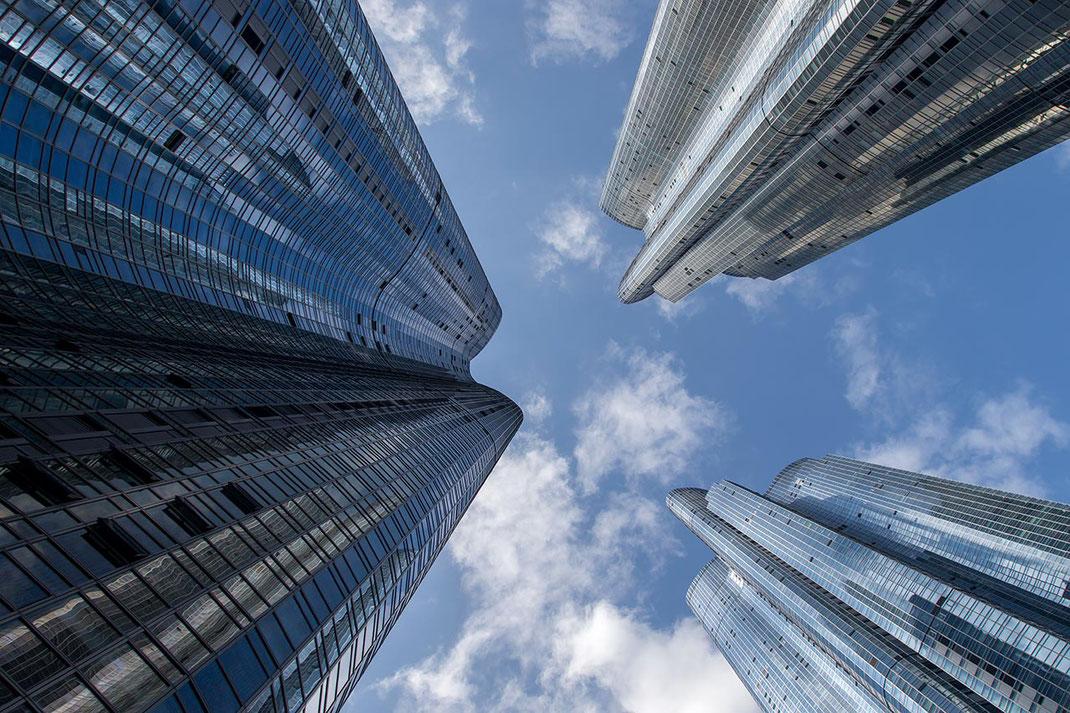 Ultra modern skyscrapers at Haeundae Udong Hyundai ipark, Busan, South Korea, 1280x853px