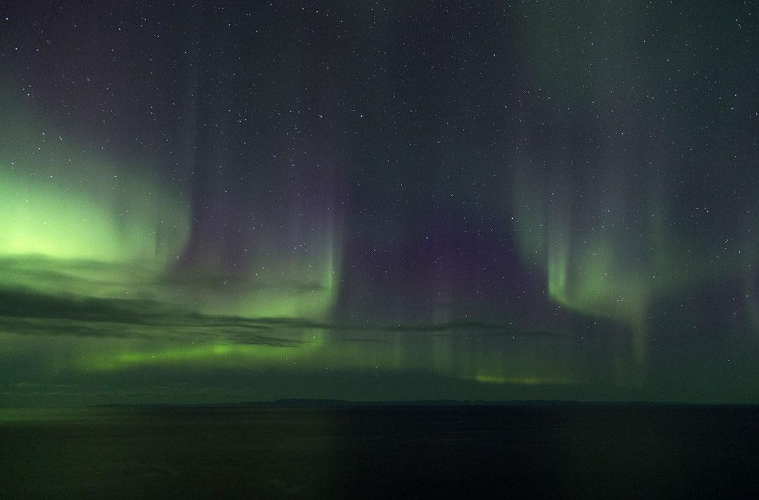 Aurora Borealis, Northern Lights at Snaefellsnes, Grundarfjördur, 1280x845px