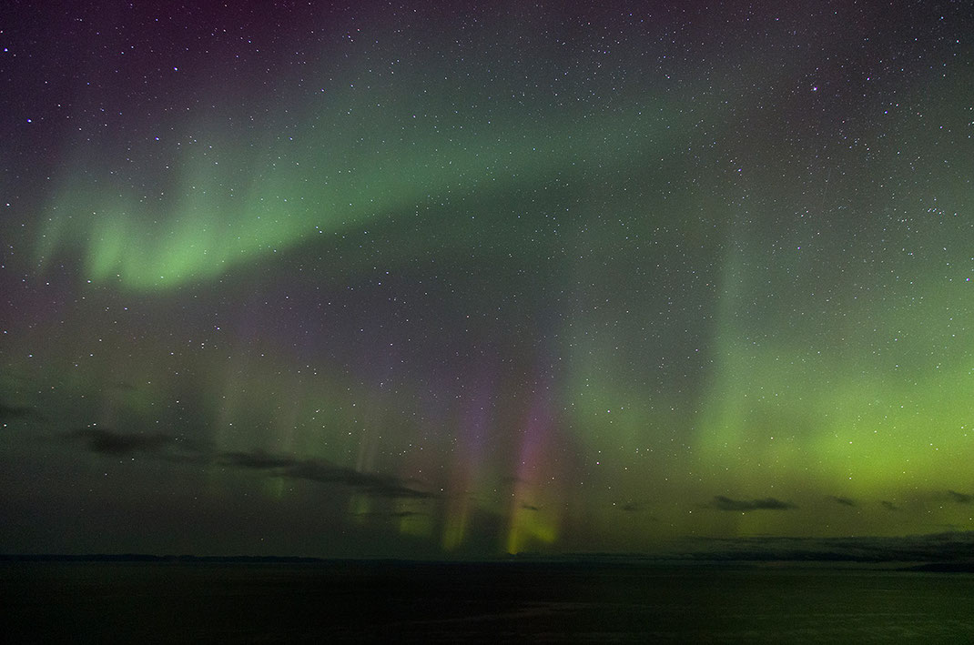 Colorful Aurora Borealis, Northern Lights at Snaefellsnes, Grundarfjördur, 1280x848px
