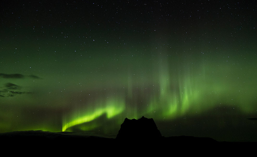Aurora Borealis, Northern Lights at , Hjorleifshofdi, Vik i Myrdal, Iceland, 1280x781px