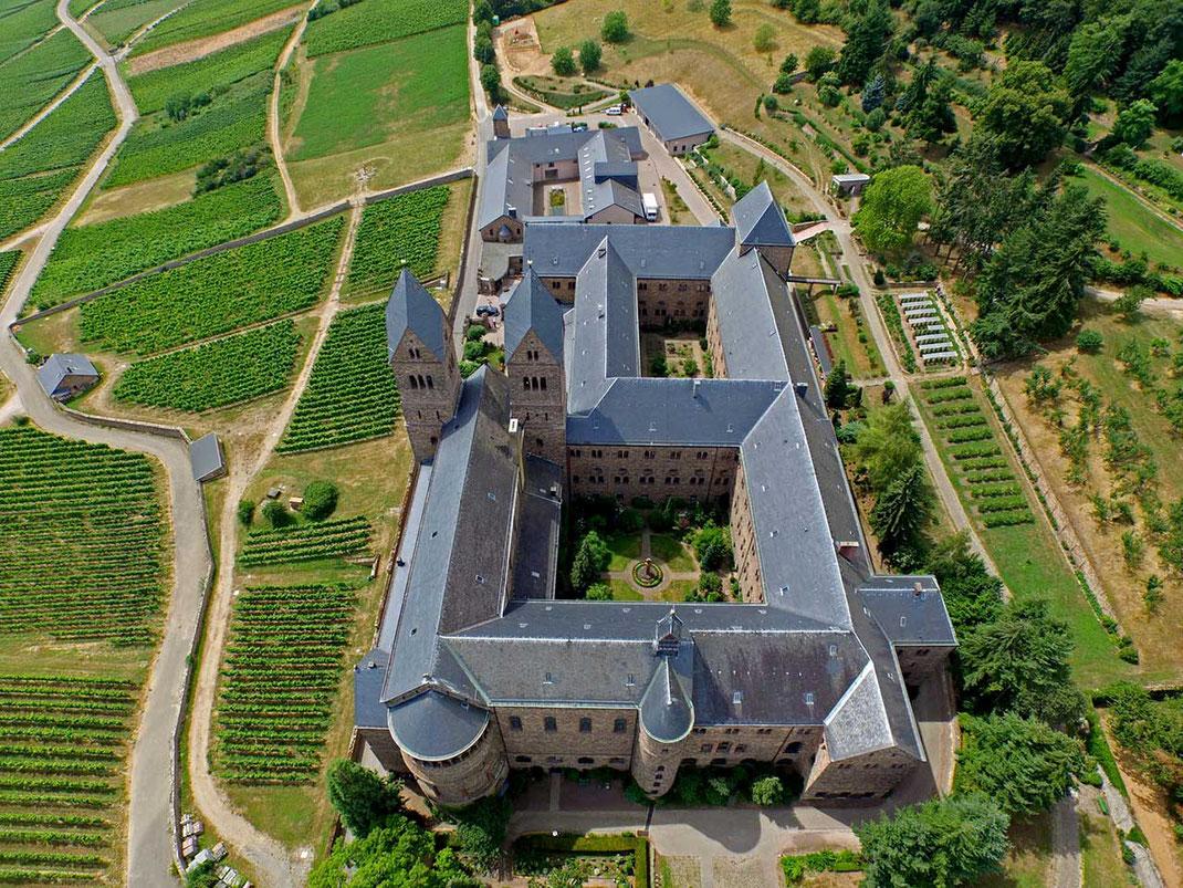 Monastery Hildegard Saint, Ruedesheim, Heritage Rhine Valley, Dji Phantom, Drone, Germany, 1280x960px