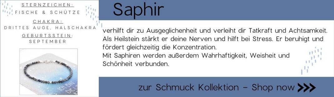 Grafik zu Edelsteinwissen Saphir
