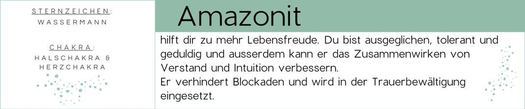 Banner Edelstein Beschreibung
