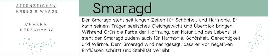 Edelsteinwissen Smaragd Edelstein