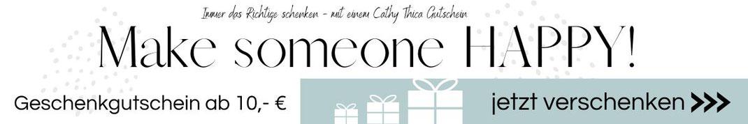 Grafik Link zum Geschenkgutschein von Cathy Thica