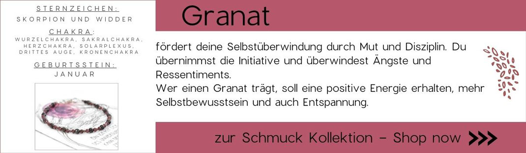 Grafik zu Edelsteinwissen Granat