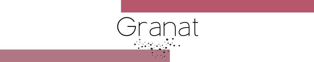 Kollektion Cathy Thica handgefertigter Schmuck mit Granat