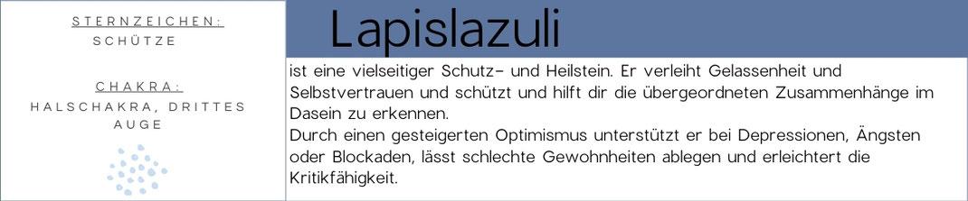 Edelsteinwissen über Lapislazuli Edelstein
