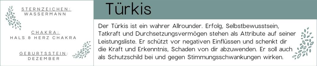 Beschreibung Türkis Edelstein