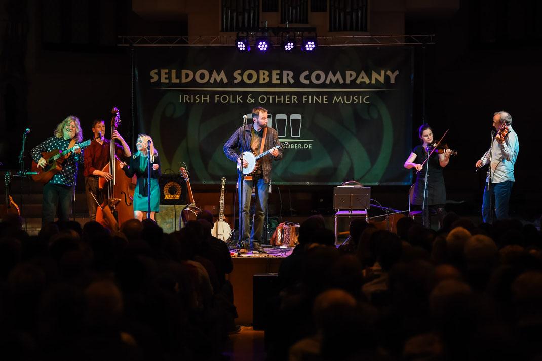 Seldom Sober Company in der Konzerthalle Ulrichskirche, Halle
