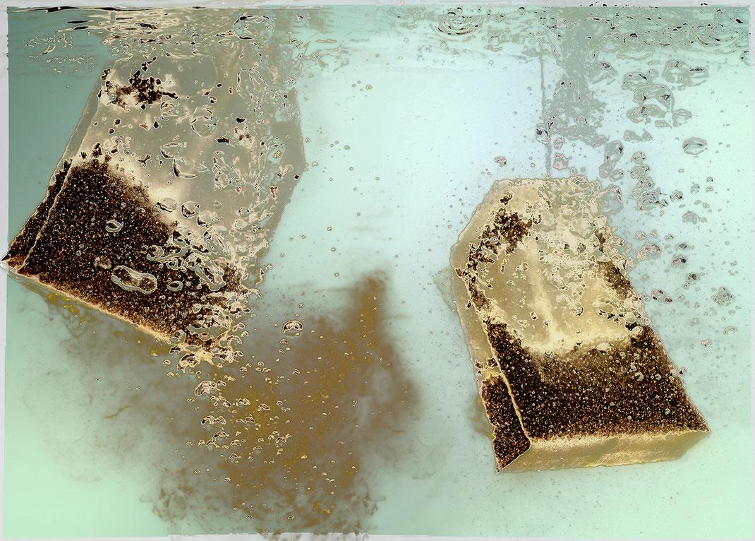 """Fotokunstprojekt """"aus dem Leben eines Teebeutels"""""""