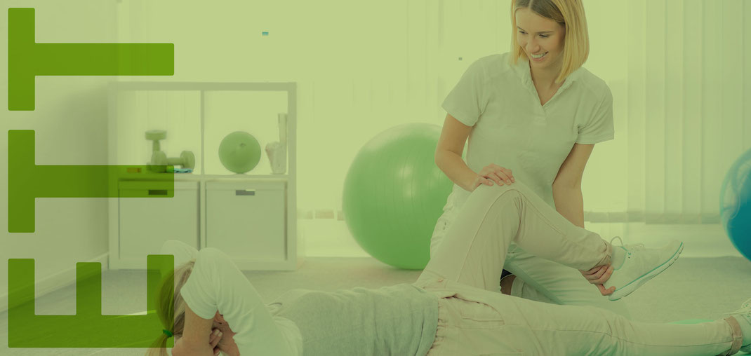 Ergotherapeutin behandelt Patentin