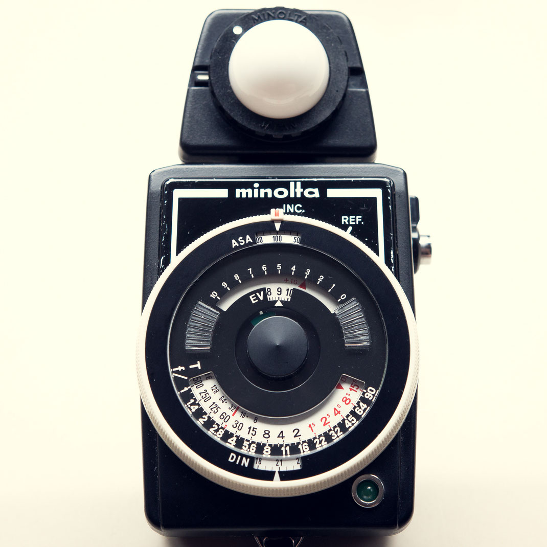 Minolta Auto Meter II Analoger Belichtungsmesser