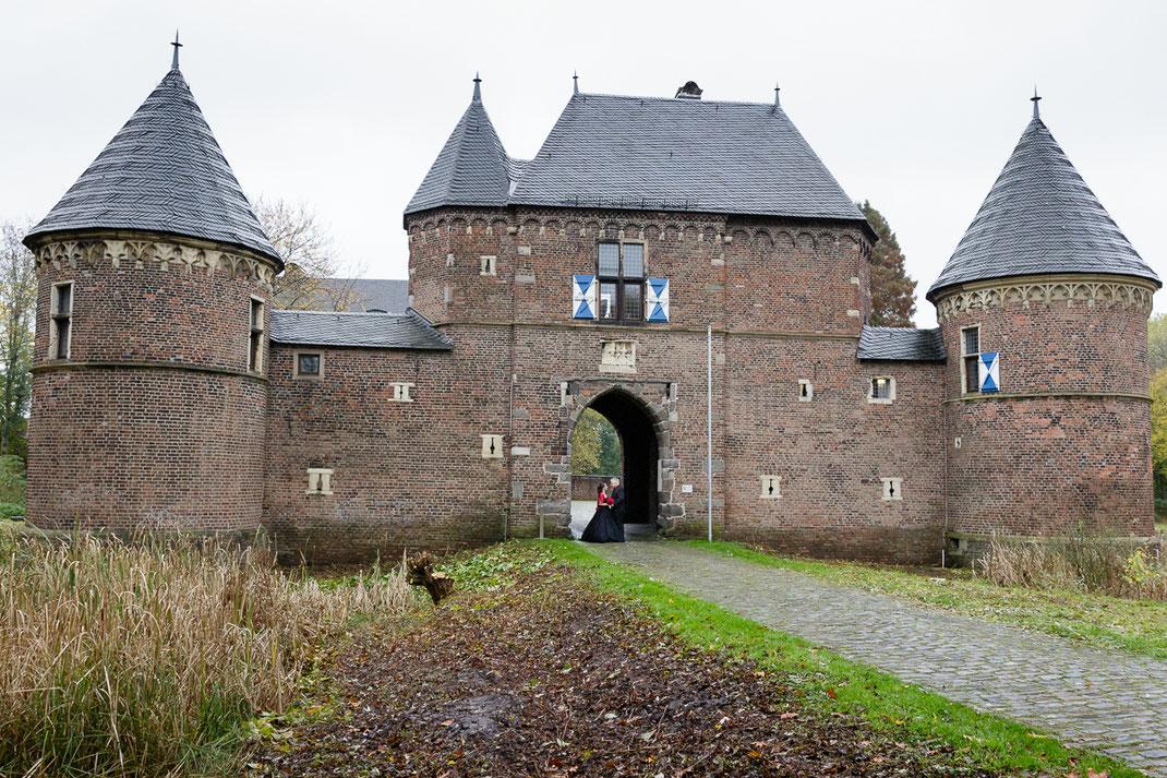 Burg Vondern Oberhausen, Hochzeitspaar