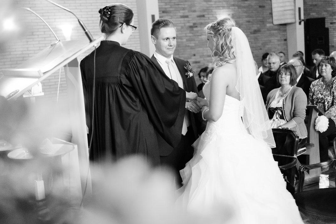 Hochzeitsgottesdienst in der Apo Tackenberg