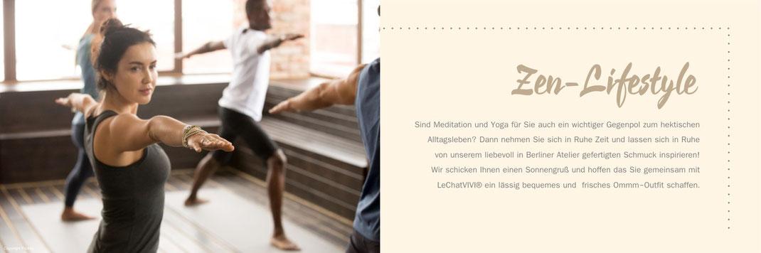 Schmuck Armband Damen Yoga Buddha