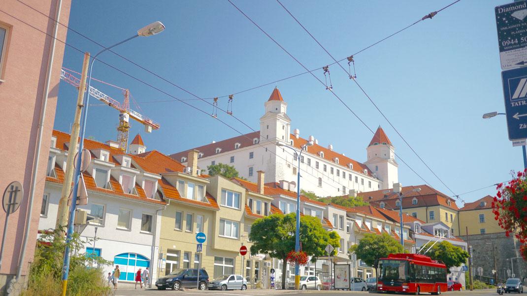 Bratislava Burg Altstadt