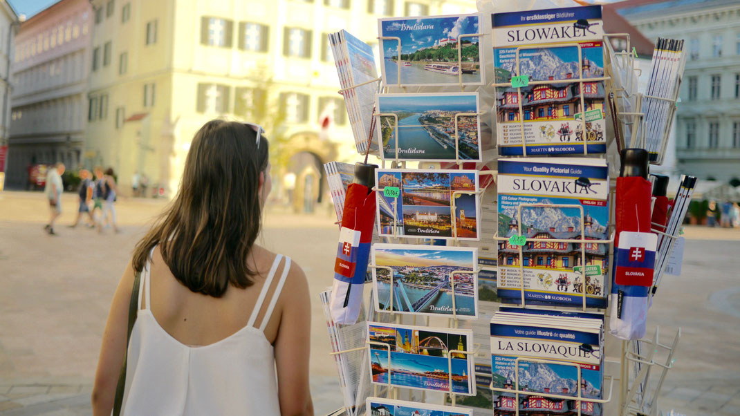 Ansichtskarten Bratislava Slowakei