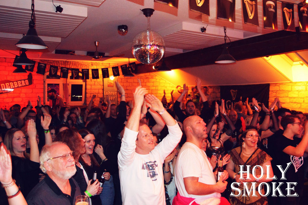 Holy Smoke Rock Party Band im Ballroom Salmünster