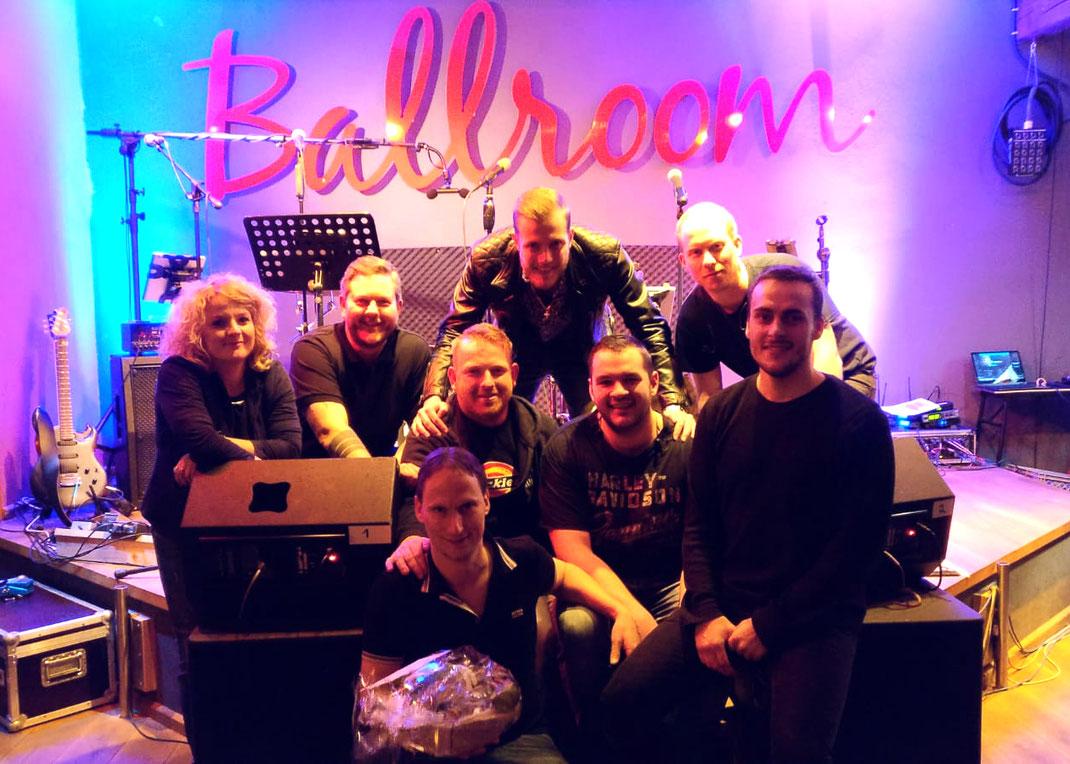 Holy Smoke Rock Coverband Geburtstag Ballroom Salmünster Stage