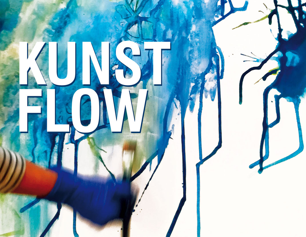 Kunst Flow Kunstschule Malschule Kunstkurse Malerei Kunstworkshops Atelier Rauschend Iza Sieverding Lohne Vechta