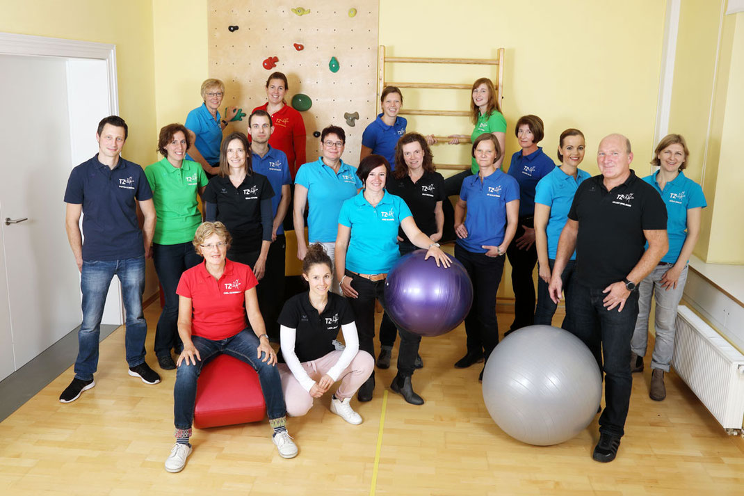 Das Team des Therapiezentrums Nordwalde-Laer