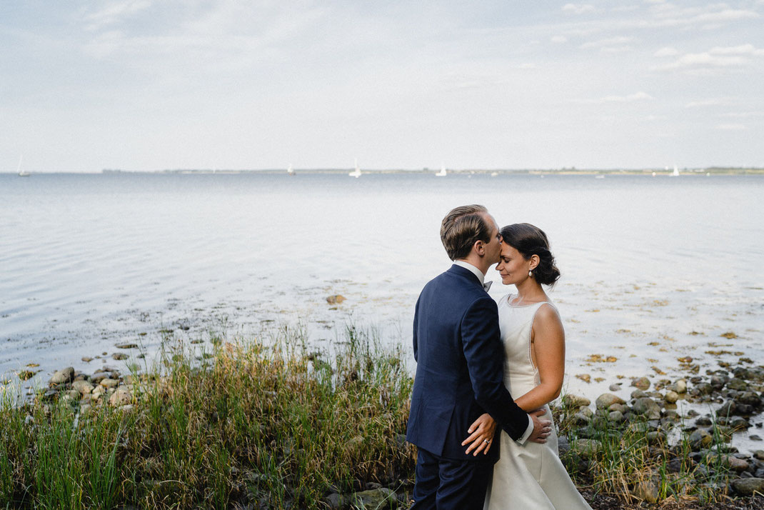 Kuss Ostsee Hochzeit
