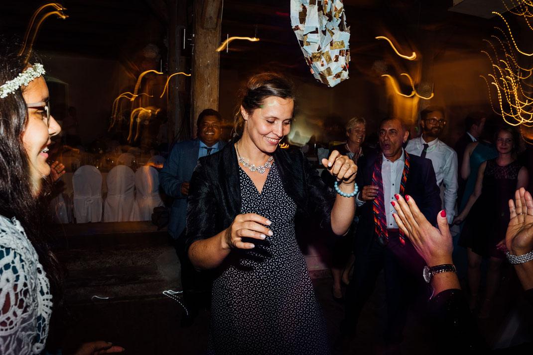 Fotografie vom Hochzeitsfotografen aus Hamburg Party