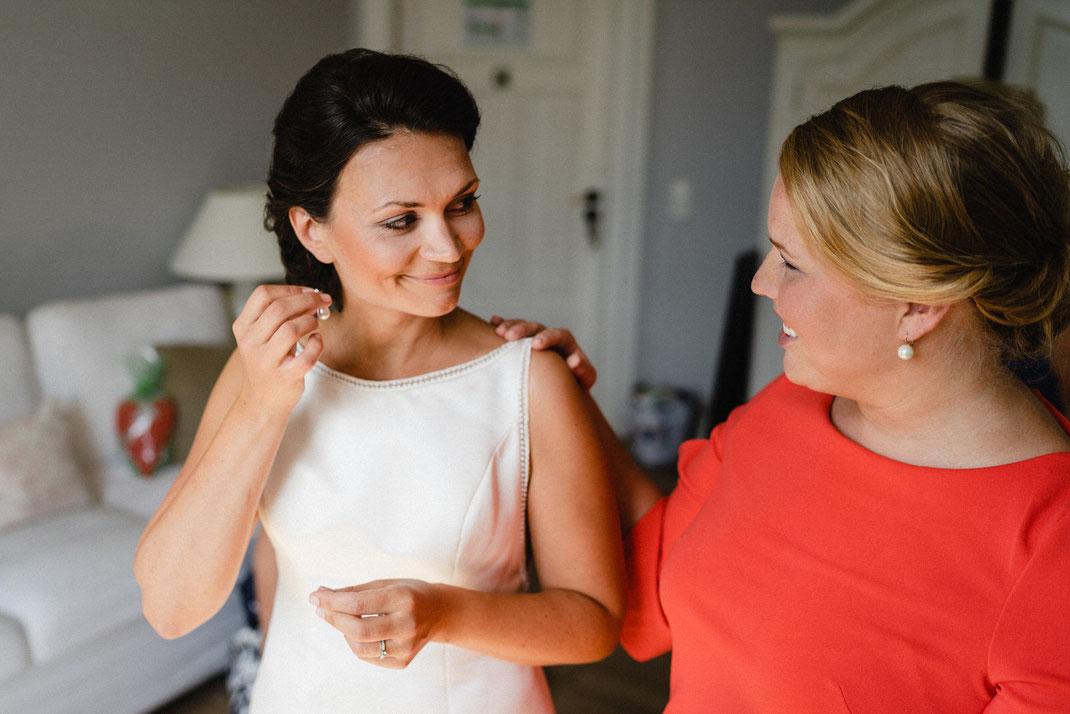 Ohrringe Braut Freundin hübsch
