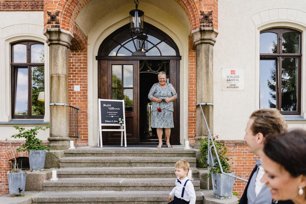 Großmutter Hochzeit Trauung