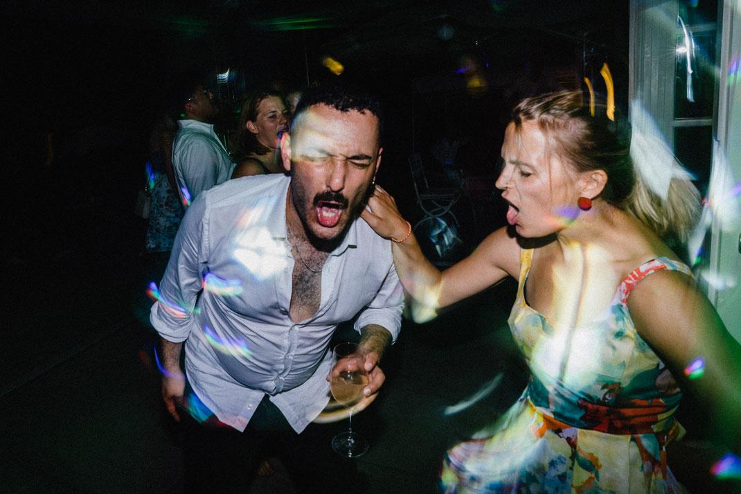 Party Sektglas Hemd Freude Touch
